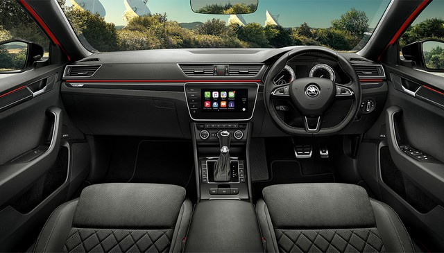 2018 Skoda Superb Sportline interiors