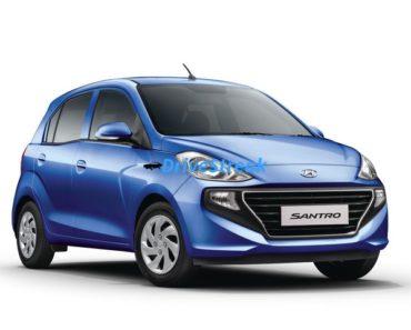 New Hyundai Santro front
