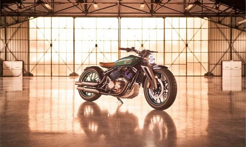 Royal Enfield Concept KX image 7
