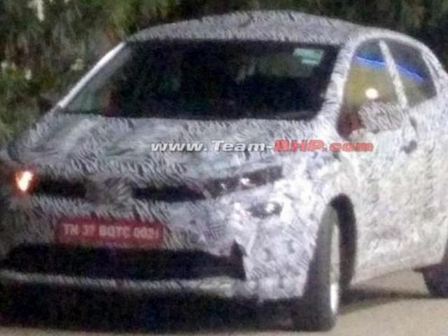 Tata 45X spotted