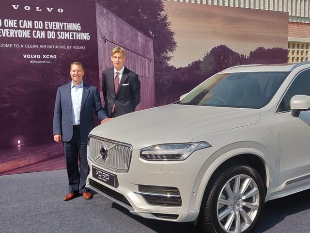 Volvo India plug in hybrid