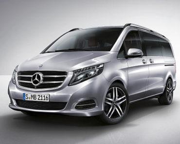 Mecedes Benz V-Class exterior
