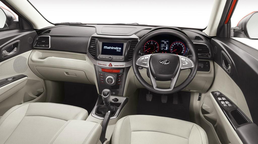 XUV300 interiors