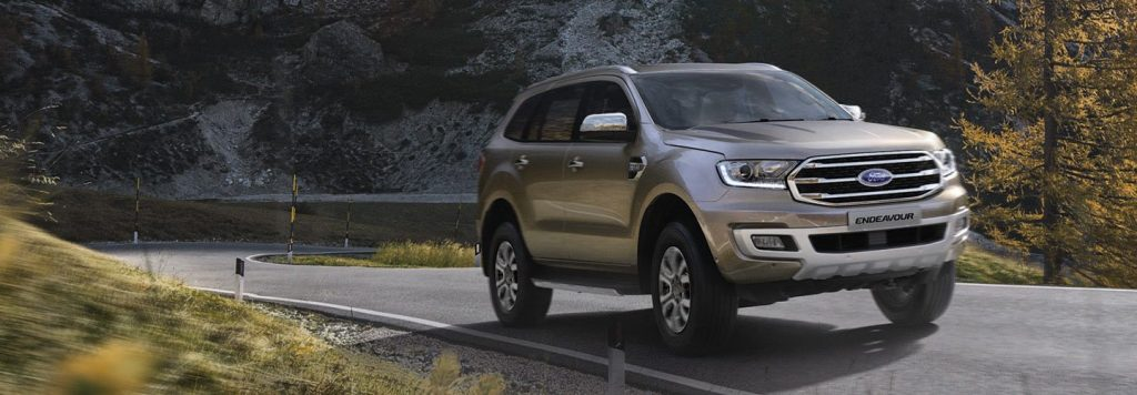 2019 Ford Endeavour Front