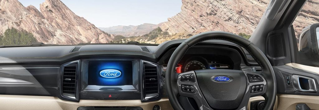 2019 Ford Endeavour Interiors