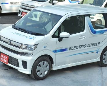 All electric WagonR front