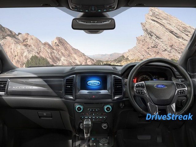 Ford Endeavour facelift interior image 1