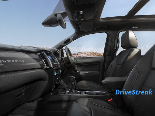 Ford Endeavour facelift interior image 4