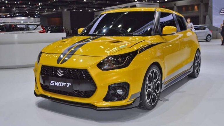 Custom Swift Sport front three quater