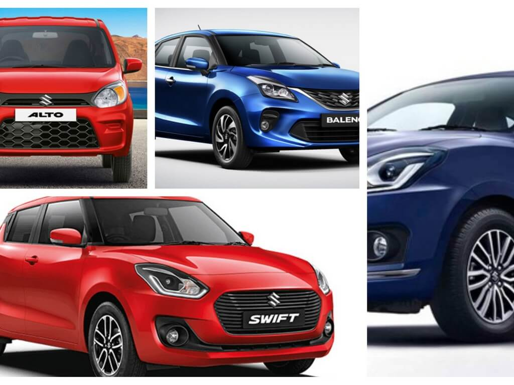 Best selling cars in india 2019