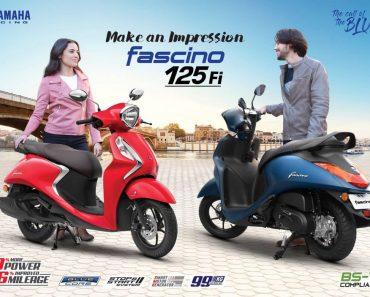 Yamaha Fascino - scooter with best mileage