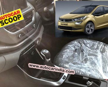 tata altroz dct automatic spied