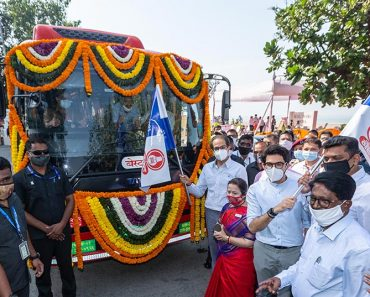tata delivers e-buses to BEST