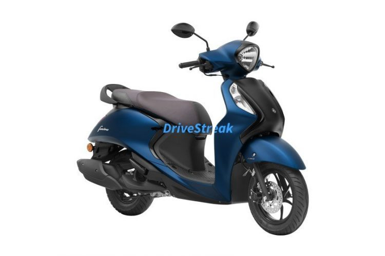 yamaha fascino dark matt blue colour