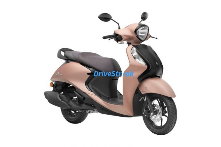 yamaha fascino suave copper colour