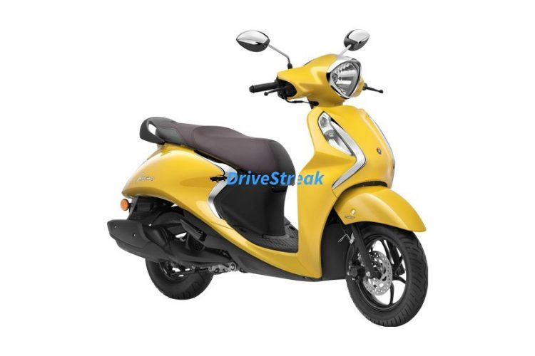 yamaha fascino yellow cocktail colour
