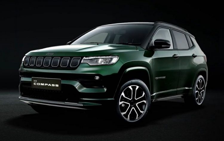 2021 jeep compass front