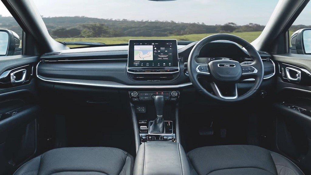 2021 Jeep Compass dashboard