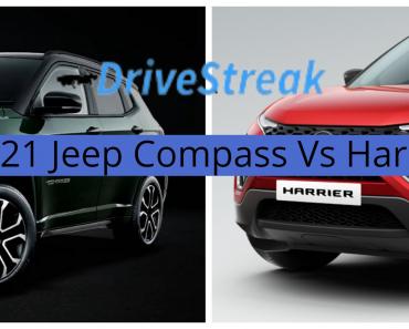 2021 Jeep Compass vs Tata Harrier