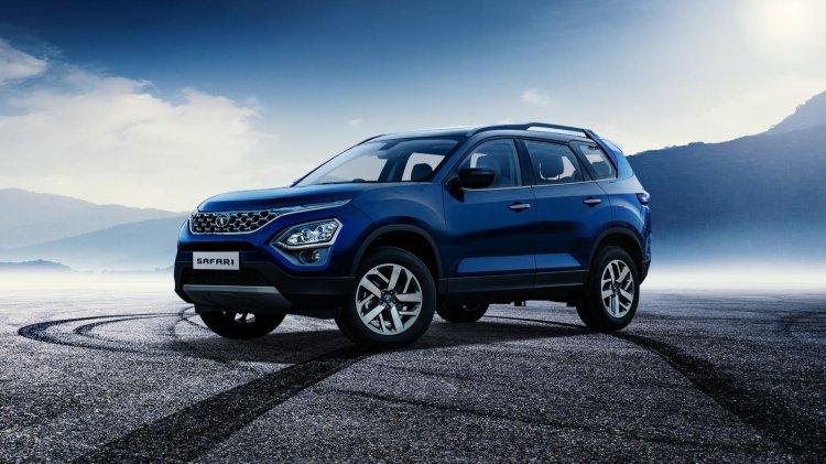 2021 Tata Safari front