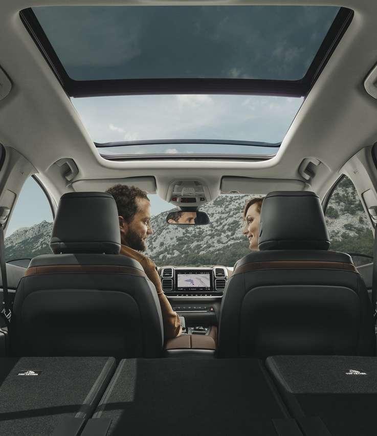 Citreon C5 Aircross interiors