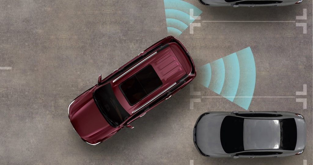 MG Gloster automatic park assist