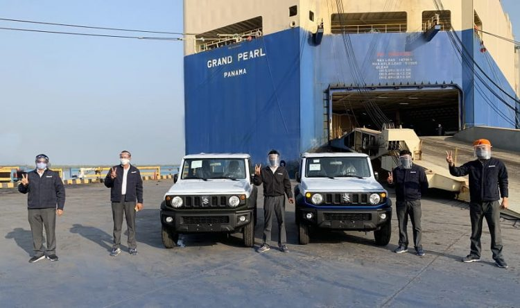 Maruti Suzuki commences production and export of Jimny from India
