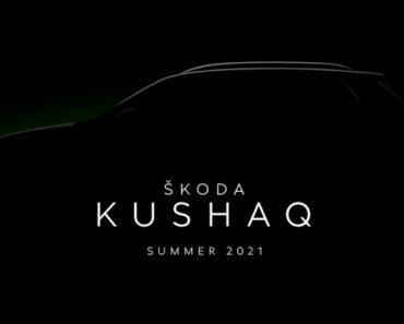 Skoda Kushaq teaser