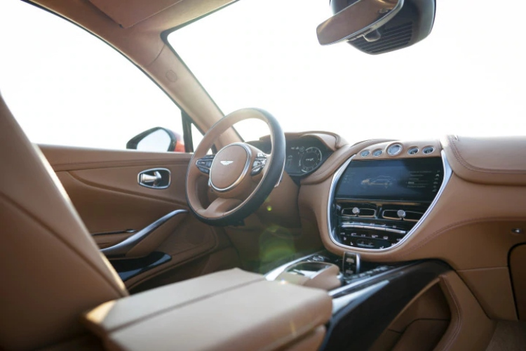 Aston Martin DBX interiors
