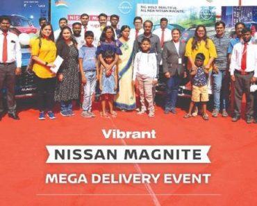 Nissan Magnite Mega Deliveries