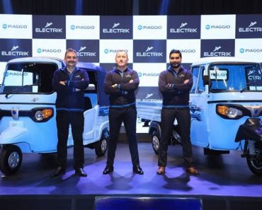 Piaggio Ape Electric E-Xtra FX & E-City FX Launched In India At Rs. 2.83 Lakh