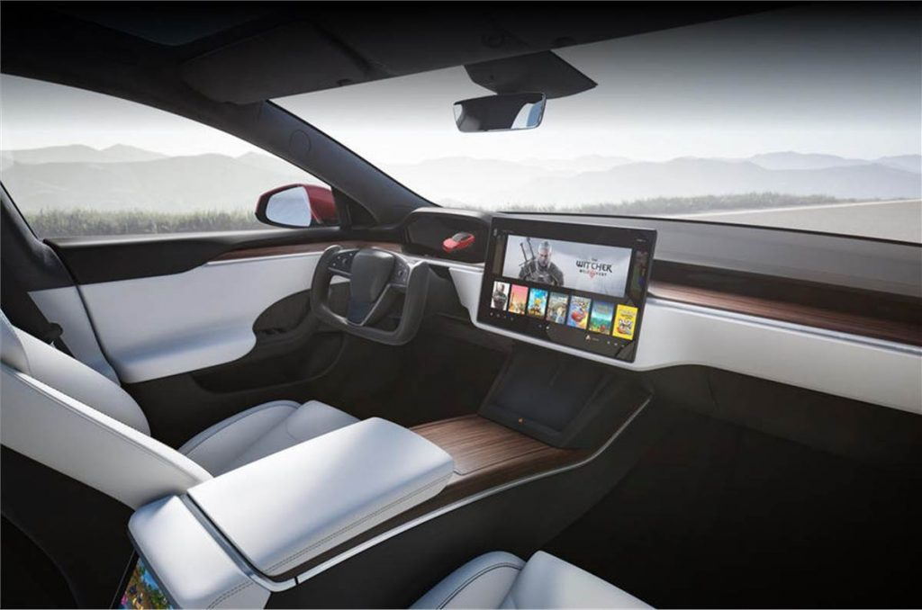 new tesla model s interior