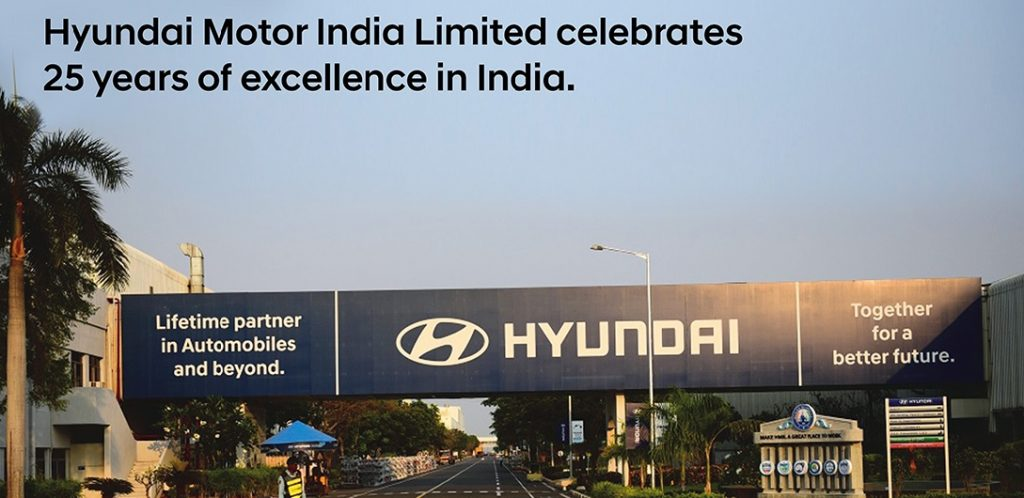 Hyundai Motor India Limited Celebrates 25 Years of Excellence in India