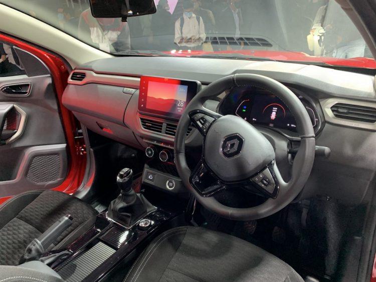 Renault-Kiger-Dashboard
