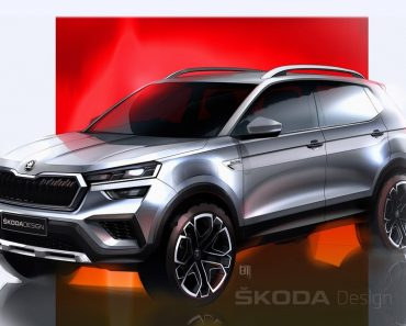 skoda kushaq design sketch