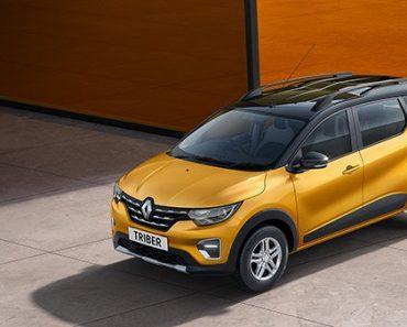 2021 Renault Triber front