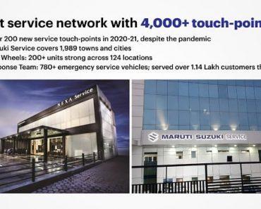 Maruti suzuki service network