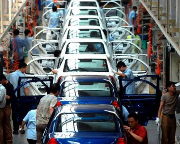 China car assembly line