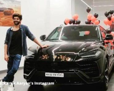 Karthik Aryan adds lamborghini Urus to his garage